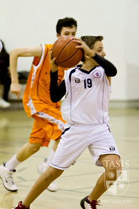 TASIS Boys Varsity Basketball Friendly (December 1, 2012)