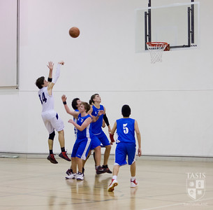TASIS Boys Varsity Basketball vs. ASM (Milan) February 1, 2013