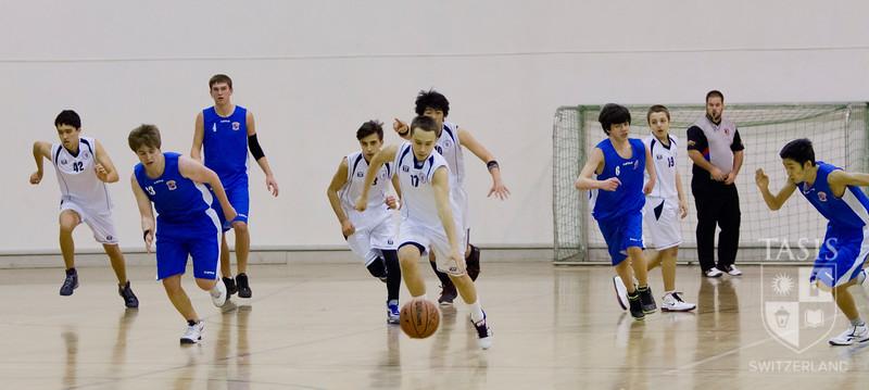 TASIS Boys Varsity Basketbal vs. ASM (February 1, 2013))