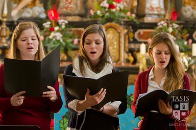 The Christmas Service at Sant' Abbondio