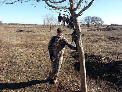 Frozen Tundra Dove Hunt 2013