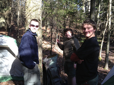 Pinchot Trail Backpacking