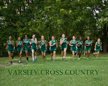 2012 Cross Country Team Pic