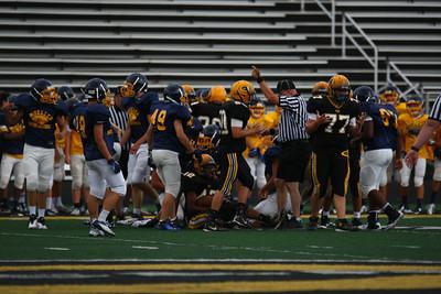 2012-08-10 Freshman vs Moeller scrimmage