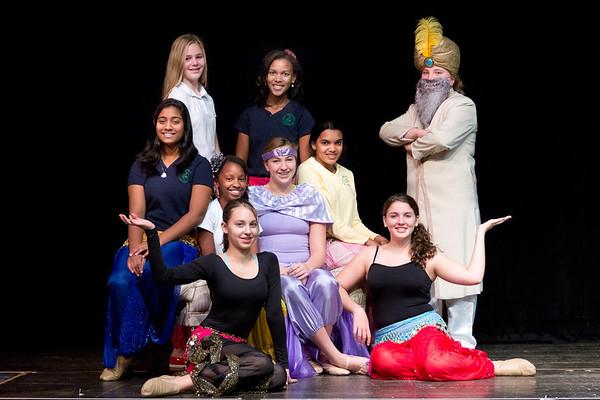 Aladdin Jr. Eighth Grade Musical
