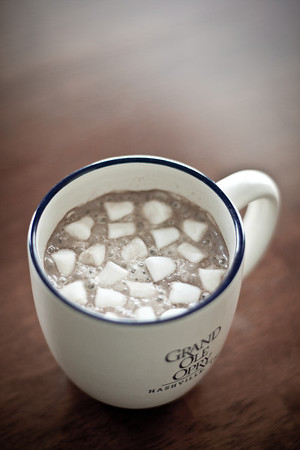 7/52 - A cup of hot chocolate for this cold winter day.