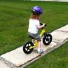 Mackenzie on her glider bike