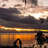 Sunset on Savusavu, Fiji