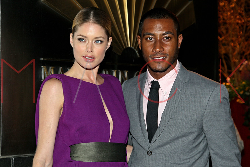 NEW YORK, NY - APRIL 10:  Doutzen Kroes and Sunnery James attend the 9th annual Spring Dinner Dance New Year's In April: A Fool's Fete at the Mandarin Oriental Hotel on April 10, 2012 in New York City.  (Photo by Steve Mack/S.D. Mack Pictures)