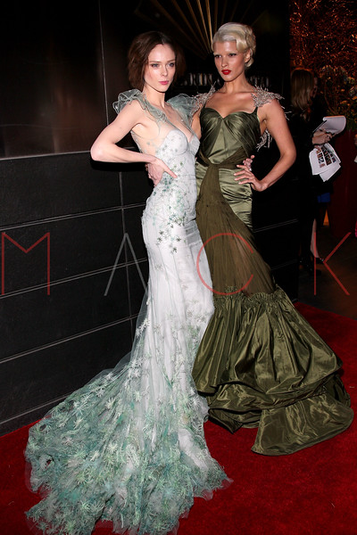 NEW YORK, NY - APRIL 10:  Coco Rocha and Crystal Renn attends the 9th annual Spring Dinner Dance New Year's In April: A Fool's Fete at the Mandarin Oriental Hotel on April 10, 2012 in New York City.  (Photo by Steve Mack/S.D. Mack Pictures)