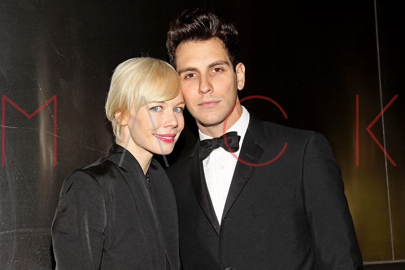 NEW YORK, NY - APRIL 10:  Designer Erin Fetherston (L) and musician Gabe Saporta attend the 9th annual Spring Dinner Dance New Year's In April: A Fool's Fete at the Mandarin Oriental Hotel on April 10, 2012 in New York City.  (Photo by Steve Mack/S.D. Mack Pictures)