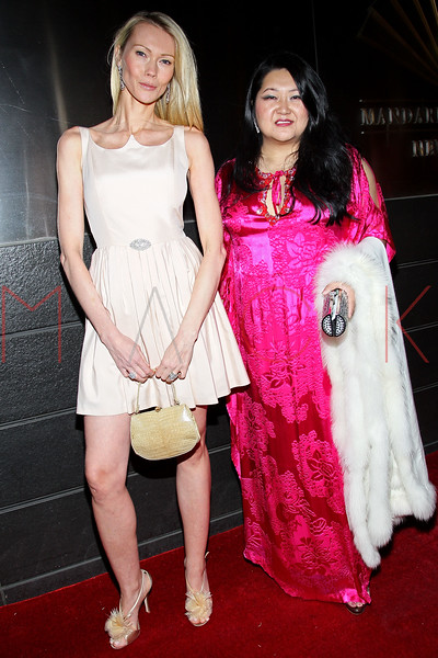 NEW YORK, NY - APRIL 10:  Susan Shin (R) attends the 9th annual Spring Dinner Dance New Year's In April: A Fool's Fete at the Mandarin Oriental Hotel on April 10, 2012 in New York City.  (Photo by Steve Mack/S.D. Mack Pictures)