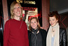 "NEW YORK, NY - APRIL 14:  (L-R) Film subjects and musicians of the alternative American rock group Hole, Eric Erlandson, Patty Schemel and Melissa auf der Maur attend the ""Hit So Hard Documentary Q & A With Members Of The Band Hole at Cinema Village Cinema on April 14, 2012 in New York City.  (Photo by Steve Mack/S.D. Mack Pictures)"