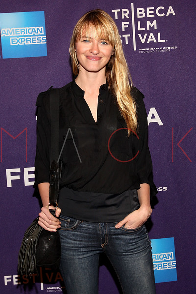 "NEW YORK, NY - APRIL 20:  Supermodel Sarah Ziff attends the premiere of ""Russian Winter"" during the 2012 Tribeca Film Festival at the AMC Loews Village 7 on April 20, 2012 in New York City.  (Photo by Steve Mack/S.D. Mack Pictures)"