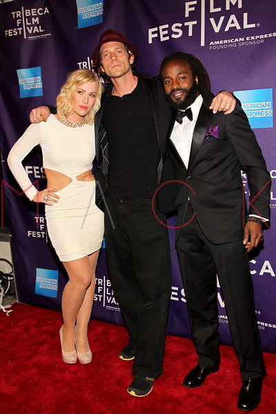 "NEW YORK, NY - APRIL 20:  Singer Natasha Bedingfield, actor/writer/musician Ben Taylor and Executive producer/singer John Forte attend the premiere of ""Russian Winter"" during the 2012 Tribeca Film Festival at the AMC Loews Village 7 on April 20, 2012 in New York City.  (Photo by Steve Mack/S.D. Mack Pictures)"