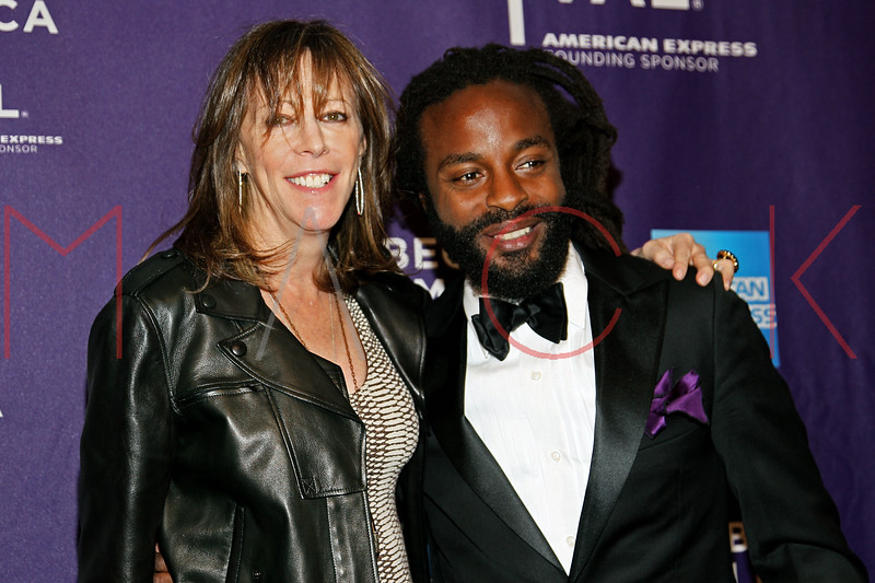 """NEW YORK, NY - APRIL 20:  Co-founder of the Tribeca Film Festival Jane Rosenthal and executive producer/singer John Forte attend the premiere of """"Russian Winter"""" during the 2012 Tribeca Film Festival at the AMC Loews Village 7 on April 20, 2012 in New York City.  (Photo by Steve Mack/S.D. Mack Pictures)"""