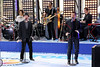 "NEW YORK, NY - AUGUST 17:  Jeff Timmons and Nick Lachey of 98 Degrees perform on NBC's ""Today"" at Rockefeller Plaza on August 17, 2012 in New York City.  (Photo by Steve Mack/S.D. Mack Pictures)"