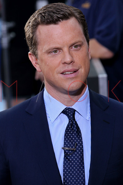 "NEW YORK, NY - AUGUST 17:  Show host William ""Willie"" Geist on NBC's ""Today"" at Rockefeller Plaza on August 17, 2012 in New York City.  (Photo by Steve Mack/S.D. Mack Pictures)"