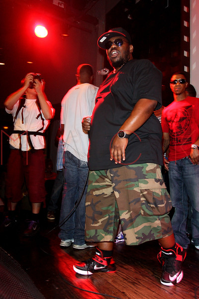 NEW YORK, NY - AUGUST 16:  Beanie Sigel performs at S.O.B.'s on August 16, 2012 in New York City.  (Photo by Steve Mack/S.D. Mack Pictures)