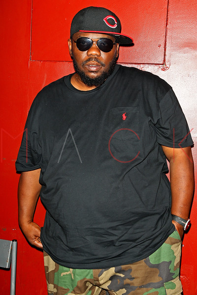NEW YORK, NY - AUGUST 16:  Beanie Sigel back stage at S.O.B.'s on August 16, 2012 in New York City.  (Photo by Steve Mack/S.D. Mack Pictures)