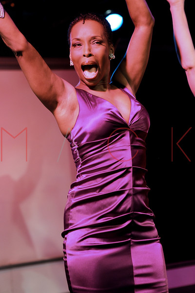 """NEW YORK, NY - AUGUST 26:  Brenda Braxton during the curtain call for the opening night of """"Cougar the Musical"""" at St. Luke's Theater on August 26, 2012 in New York City.  (Photo by Steve Mack/S.D. Mack Pictures)"""