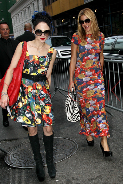"""NEW YORK, NY - AUGUST 21:  Designer Stacey Bendet and Dani Stahl attend the """"For A Good Time, Call..."""" premiere at Regal Union Square on August 21, 2012 in New York City.  (Photo by Steve Mack/S.D. Mack Pictures)"""