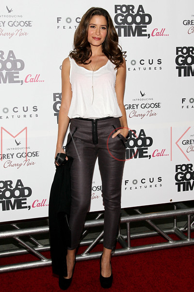 "NEW YORK, NY - AUGUST 21:  Mercedes Masohn attends the ""For A Good Time, Call..."" premiere at Regal Union Square on August 21, 2012 in New York City.  (Photo by Steve Mack/S.D. Mack Pictures)"