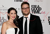 """NEW YORK, NY - AUGUST 21:  Lauren Miller and Seth Rogen attend the """"For A Good Time, Call..."""" premiere at Regal Union Square on August 21, 2012 in New York City.  (Photo by Steve Mack/S.D. Mack Pictures)"""