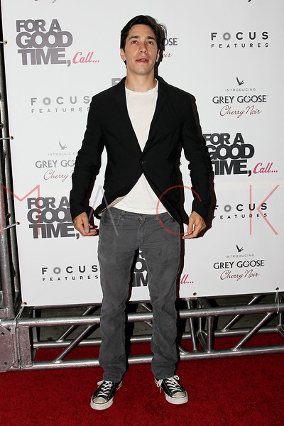 "NEW YORK, NY - AUGUST 21:  Actor Justin Long attends the ""For A Good Time, Call..."" premiere at Regal Union Square on August 21, 2012 in New York City.  (Photo by Steve Mack/S.D. Mack Pictures)"
