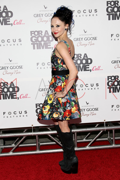 "NEW YORK, NY - AUGUST 21:  Designer Stacey Bendet attends the ""For A Good Time, Call..."" premiere at Regal Union Square on August 21, 2012 in New York City.  (Photo by Steve Mack/S.D. Mack Pictures)"