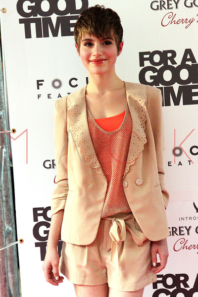"""NEW YORK, NY - AUGUST 21:  Actress Sami Gayle attends the """"For A Good Time, Call..."""" premiere at Regal Union Square on August 21, 2012 in New York City.  (Photo by Steve Mack/S.D. Mack Pictures)"""