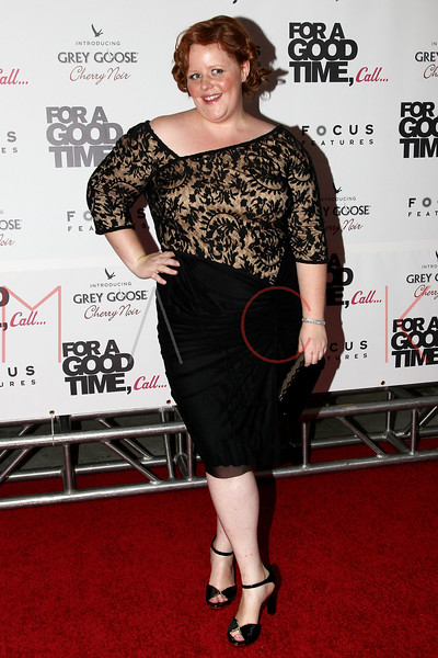 "NEW YORK, NY - AUGUST 21:  Katie Anne Naylon attends the ""For A Good Time, Call..."" premiere at Regal Union Square on August 21, 2012 in New York City.  (Photo by Steve Mack/S.D. Mack Pictures)"