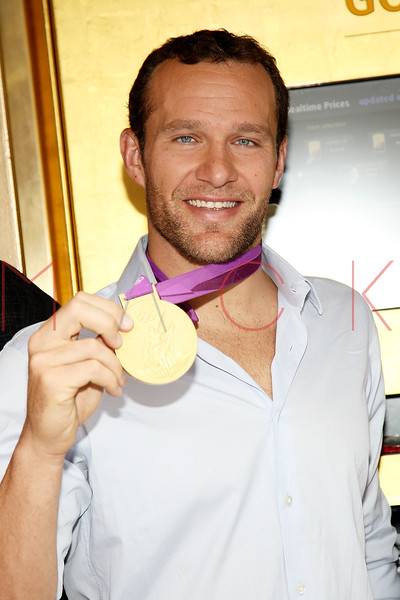NEW YORK, NY - AUGUST 23:  6-Time Olympic Gold medalist swimmer Brendan Hansen attends the grand re-opening of Stack's Bowers Galleries on August 23, 2012 in New York City.  (Photo by Steve Mack/S.D. Mack Pictures)