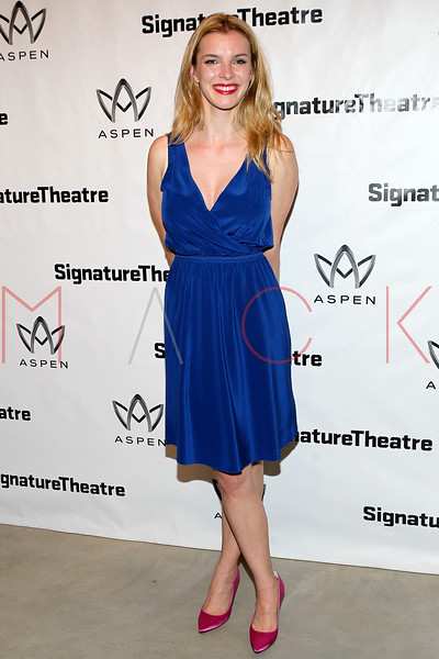 "NEW YORK, NY - AUGUST 27:  Betty Gilpin attends the ""Heartless"" opening night party at Signature Theatre Company's Pershing Square Signature Center on August 27, 2012 in New York City.  (Photo by Steve Mack/S.D. Mack Pictures)"