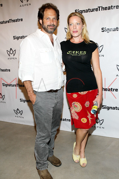 "NEW YORK, NY - AUGUST 27:  Kurt Deutsch and Sherie Rene Scott attend the ""Heartless"" opening night party at Signature Theatre Company's Pershing Square Signature Center on August 27, 2012 in New York City.  (Photo by Steve Mack/S.D. Mack Pictures)"