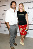 """NEW YORK, NY - AUGUST 27:  Kurt Deutsch and Sherie Rene Scott attend the """"Heartless"""" opening night party at Signature Theatre Company's Pershing Square Signature Center on August 27, 2012 in New York City.  (Photo by Steve Mack/S.D. Mack Pictures)"""