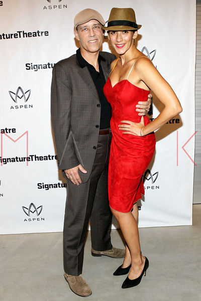 "NEW YORK, NY - AUGUST 27:  Kevin Weir and Patricia McGregor attend the ""Heartless"" opening night party at Signature Theatre Company's Pershing Square Signature Center on August 27, 2012 in New York City.  (Photo by Steve Mack/S.D. Mack Pictures)"