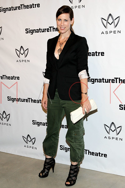 "NEW YORK, NY - AUGUST 27:  Miriam Shor attends the ""Heartless"" opening night party at Signature Theatre Company's Pershing Square Signature Center on August 27, 2012 in New York City.  (Photo by Steve Mack/S.D. Mack Pictures)"