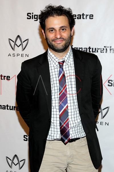 "NEW YORK, NY - AUGUST 27:  Arian Moayed attends the ""Heartless"" opening night party at Signature Theatre Company's Pershing Square Signature Center on August 27, 2012 in New York City.  (Photo by Steve Mack/S.D. Mack Pictures)"