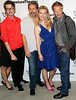 "NEW YORK, NY - AUGUST 27:  Daniel Aukin, Gary Cole, Betty Gilpin and Sam Shepard attend the ""Heartless"" opening night party at Signature Theatre Company's Pershing Square Signature Center on August 27, 2012 in New York City.  (Photo by Steve Mack/S.D. Mack Pictures)"