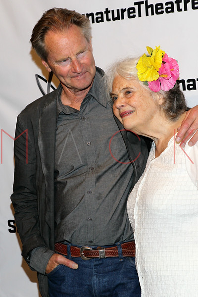 """NEW YORK, NY - AUGUST 27:  Sam Shepard and Lois Smith attend the """"Heartless"""" opening night party at Signature Theatre Company's Pershing Square Signature Center on August 27, 2012 in New York City.  (Photo by Steve Mack/S.D. Mack Pictures)"""
