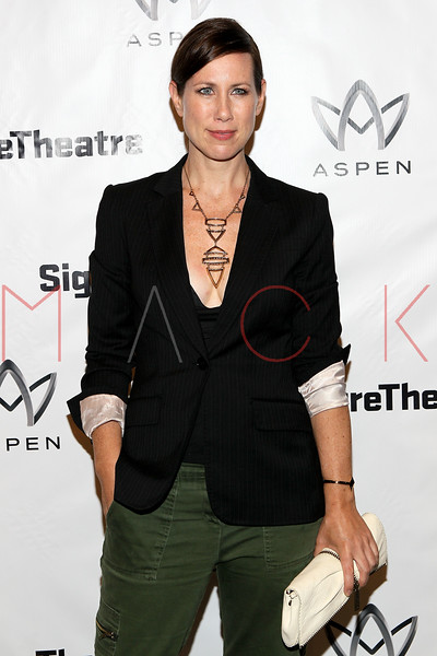 """NEW YORK, NY - AUGUST 27:  Miriam Shor attends the """"Heartless"""" opening night party at Signature Theatre Company's Pershing Square Signature Center on August 27, 2012 in New York City.  (Photo by Steve Mack/S.D. Mack Pictures)"""