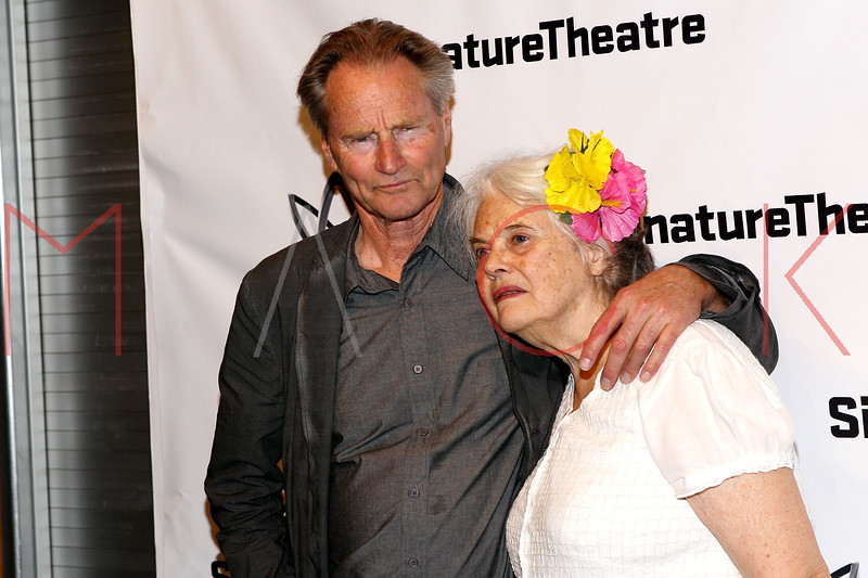 "NEW YORK, NY - AUGUST 27:  Sam Shepard and Lois Smith attend the ""Heartless"" opening night party at Signature Theatre Company's Pershing Square Signature Center on August 27, 2012 in New York City.  (Photo by Steve Mack/S.D. Mack Pictures)"