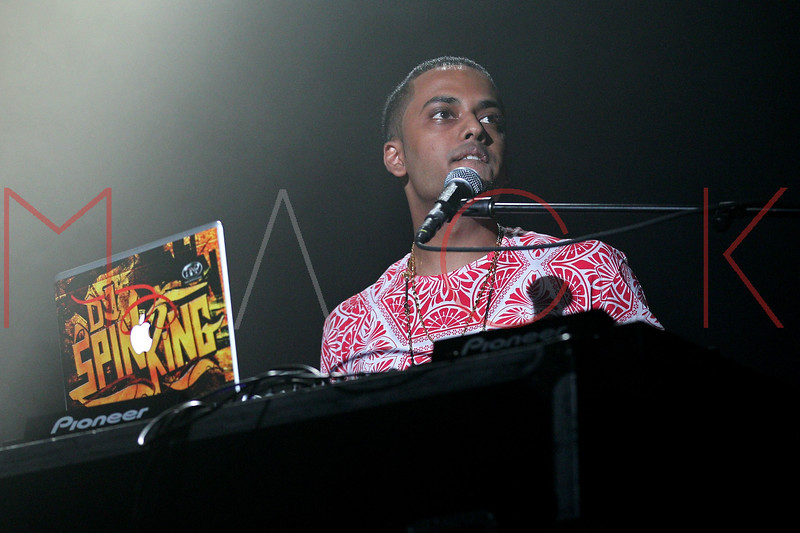 NEW YORK, NY - AUGUST 25:  DJ Spin King performs during the Scream Tour Next Generation Pt. 2 at Best Buy Theater on August 25, 2012 in New York City.  (Photo by Steve Mack/S.D. Mack Pictures)