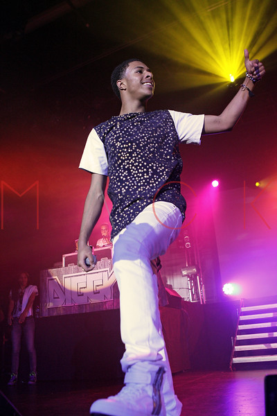NEW YORK, NY - AUGUST 25:  Diggy Simmons performs during the Scream Tour Next Generation Pt. 2 at Best Buy Theater on August 25, 2012 in New York City.  (Photo by Steve Mack/S.D. Mack Pictures)