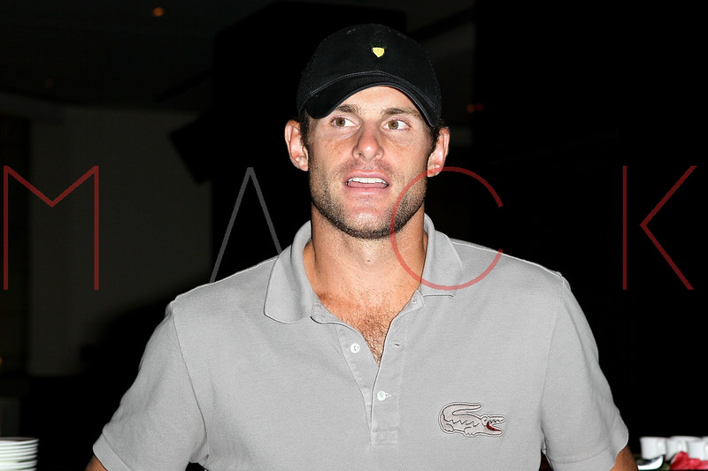 NEW YORK, NY - AUGUST 25:  Pro Tennis Player Andy Roddick attends Tennis360 at The Setai Fifth Avenue on August 25, 2012 in New York City.  (Photo by Steve Mack/S.D. Mack Pictures)