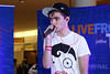NEW YORK, NY - AUGUST 22:  Singer Nathan Sykes performs during JetBlue's Live From T5 Concert Series at John F. Kennedy International Airport on August 22, 2012 in the Queens borough of New York City.  (Photo by Steve Mack/S.D. Mack Pictures)