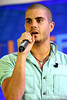 NEW YORK, NY - AUGUST 22:  Singer Max George performs during JetBlue's Live From T5 Concert Series at John F. Kennedy International Airport on August 22, 2012 in the Queens borough of New York City.  (Photo by Steve Mack/S.D. Mack Pictures)