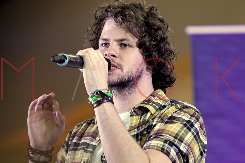 NEW YORK, NY - AUGUST 22:  Jay McGuiness performs during JetBlue's Live From T5 Concert Series at John F. Kennedy International Airport on August 22, 2012 in the Queens borough of New York City.  (Photo by Steve Mack/S.D. Mack Pictures)
