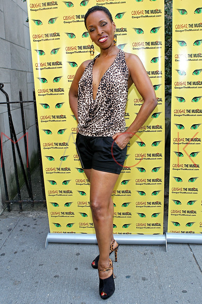 "NEW YORK, NY - AUGUST 26:  Brenda Braxton attends the after party for the opening night of ""Cougar the Musical"" at P.D. O'Hurley's on August 26, 2012 in New York City.  (Photo by Steve Mack/S.D. Mack Pictures)"
